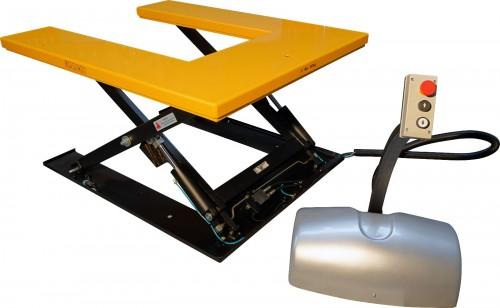 Table élévatrice électrique fixe en U 1000kg
