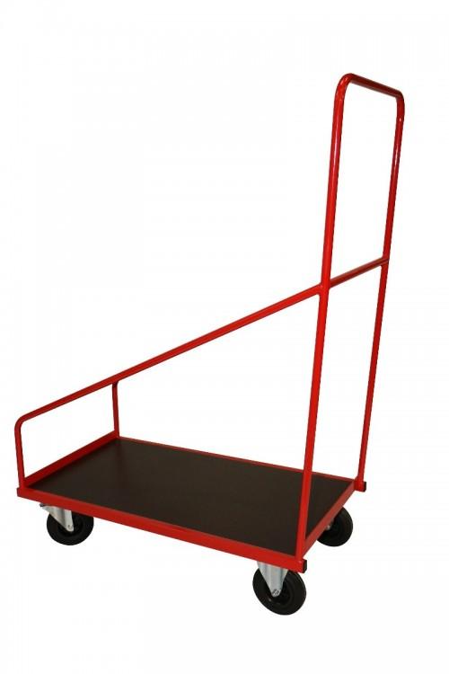 Chariot de rangement pour monte-matériaux
