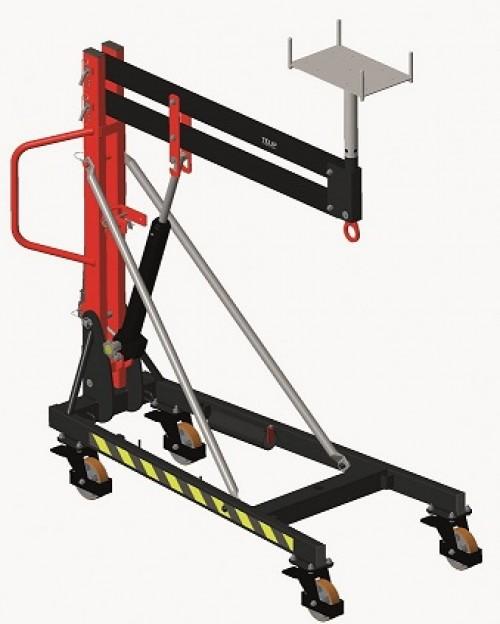 Lève-poutre hydraulique LPH600