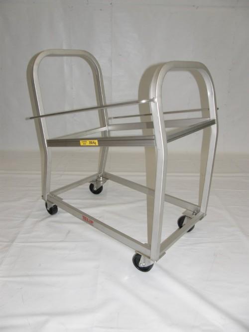 Chariots de stockage de plateaux (industrie agro-alimentaire)